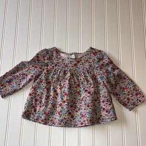 babyGap long sleeve blouse